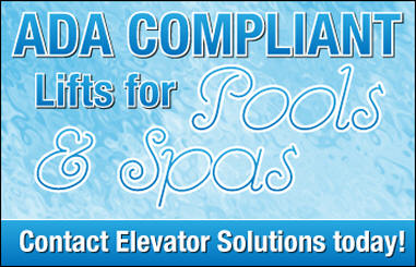 ADA Compliant Lifts for Pools and Spas