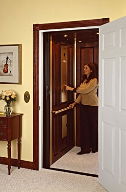 Small elevators for residential buildings security sistems for Small elevator for home price